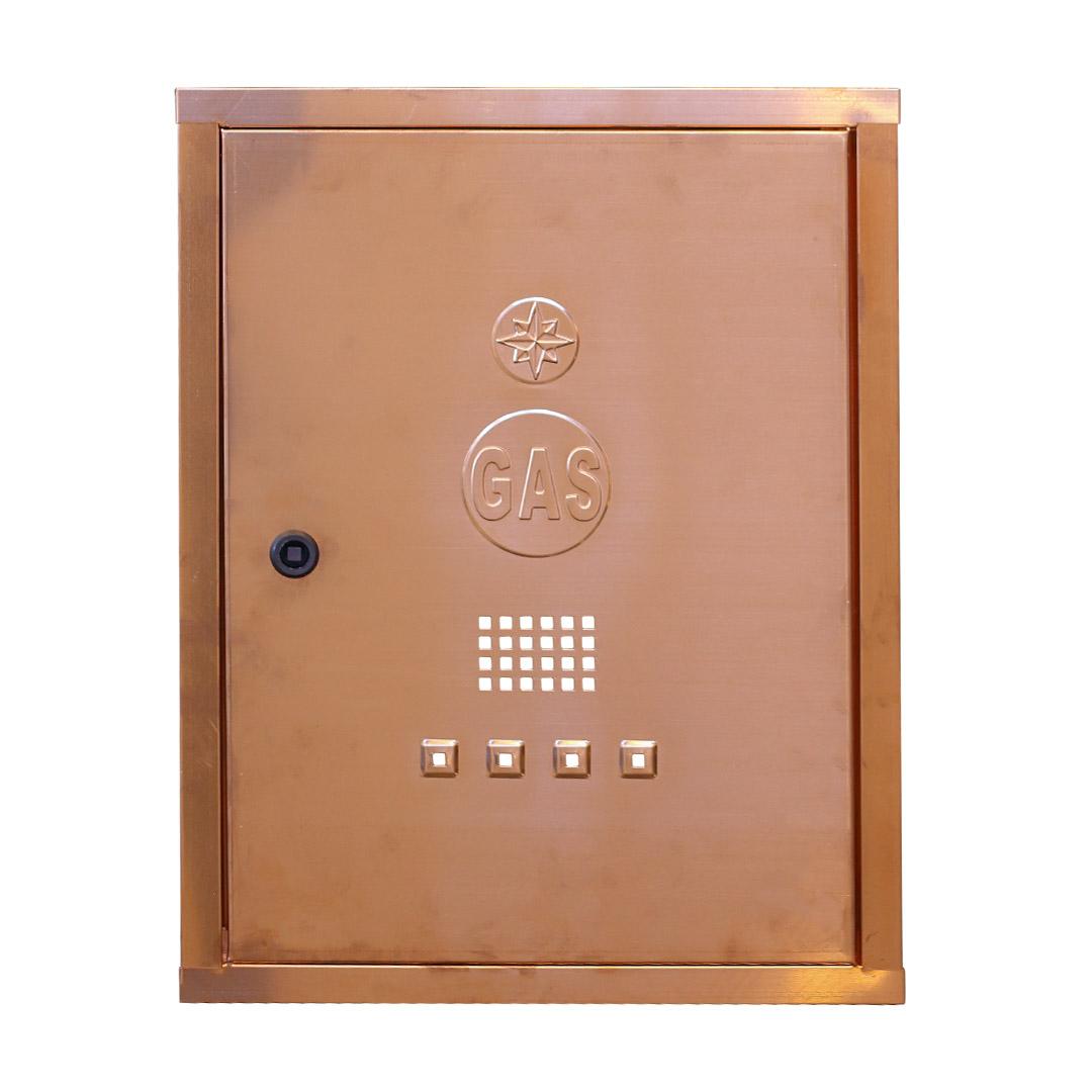 Art 067 sportello per contatore gas in rame for Armadio contatore gas