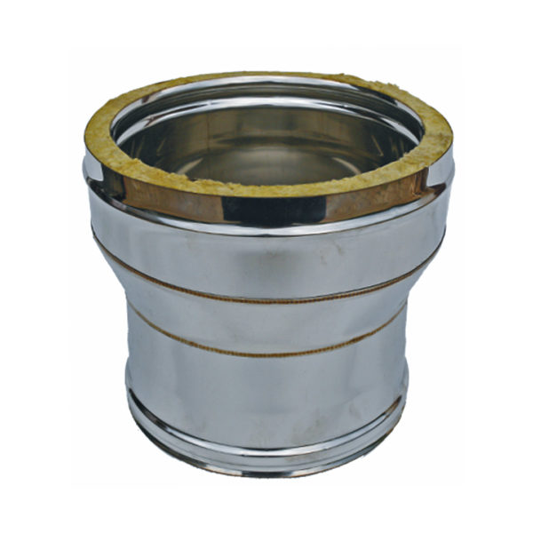 112 Riduzione mono doppia in acciaio inox