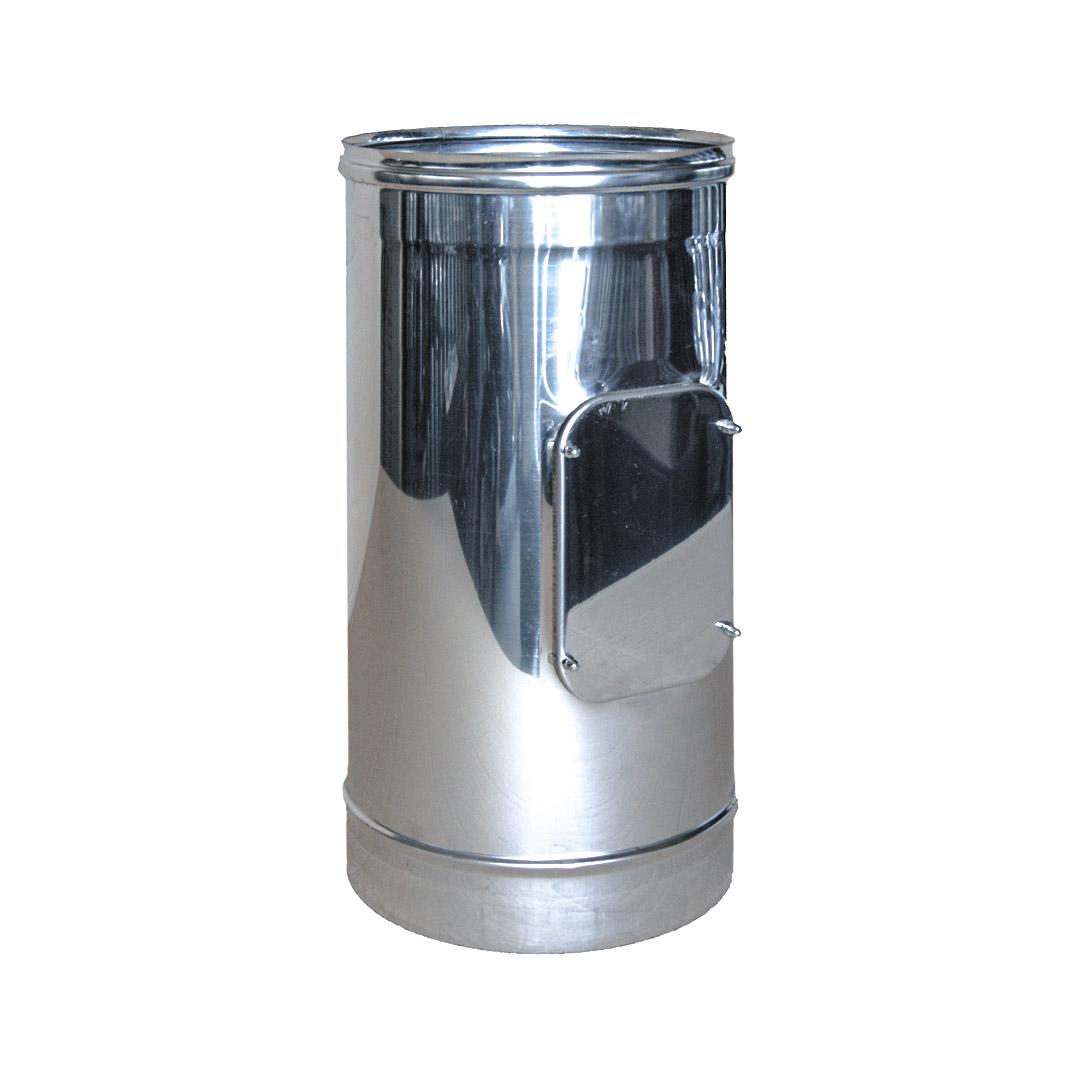 12 tubo con porta ispezione