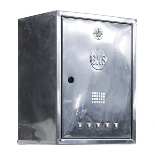 65 cassetta per contatore gas inox