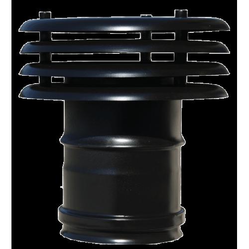 Art 311 comignolo per scarico fumi inox - Canne fumarie coibentate per stufe a pellet ...