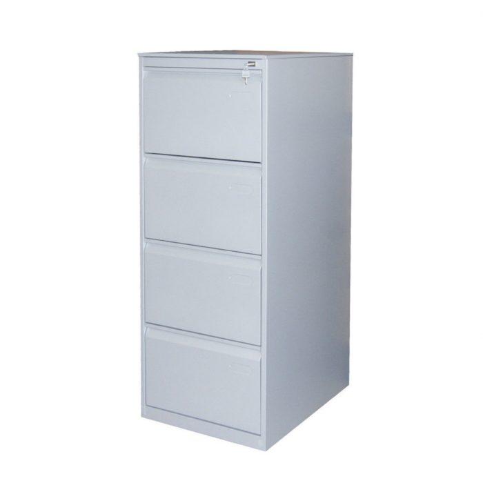 Classificatore metallico monoblocco a 4 cassetti  x136 ral 9006