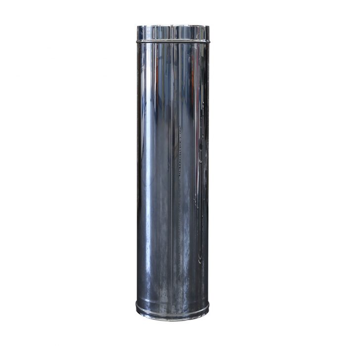 art 01 tubo monoparete acciaio inox da 1000