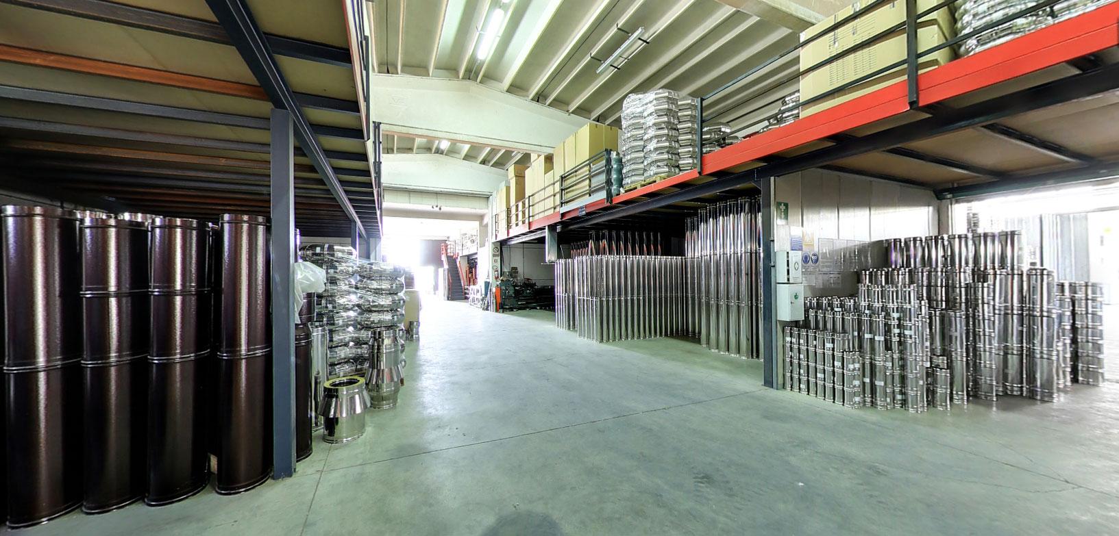 tecnometal azienda produzione canne fumarie inox tubi e comignoli 4