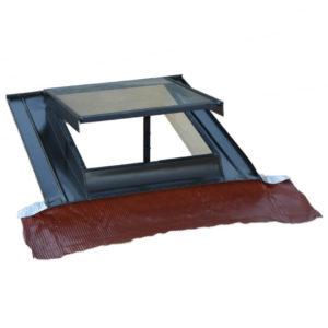 Art 257 lucernario top verticale in alluminio vetro for Lucernaio velux